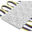 (20 ADET) 12 Volt 0.72 Watt 3'lü Samsung RGB Modül Led