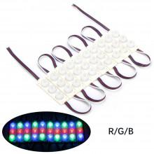 (20 ADET) 12 Volt 3 Watt Üçlü RGB Modül Led