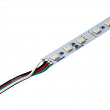12 Volt 5050 Ledli Led Bar Alüminyum Çubuk 60 Ledli RGB