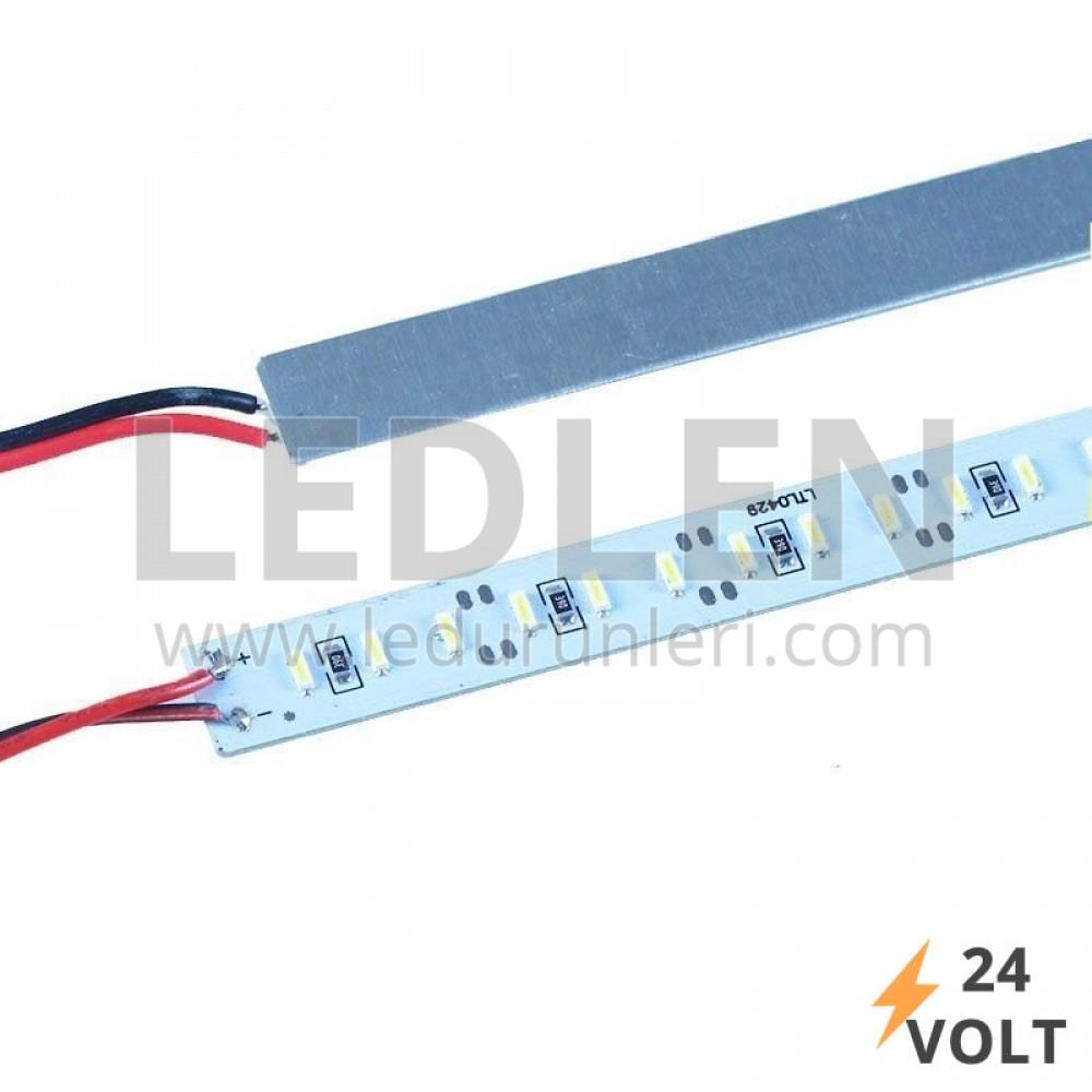 LEDLEN 24V. 4014 İç Mekan Aluminyum Çubuk Bar Led 144 Led