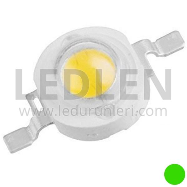 1 Watt 350ma (Yeşil) Power Led - 70-80 Lümen