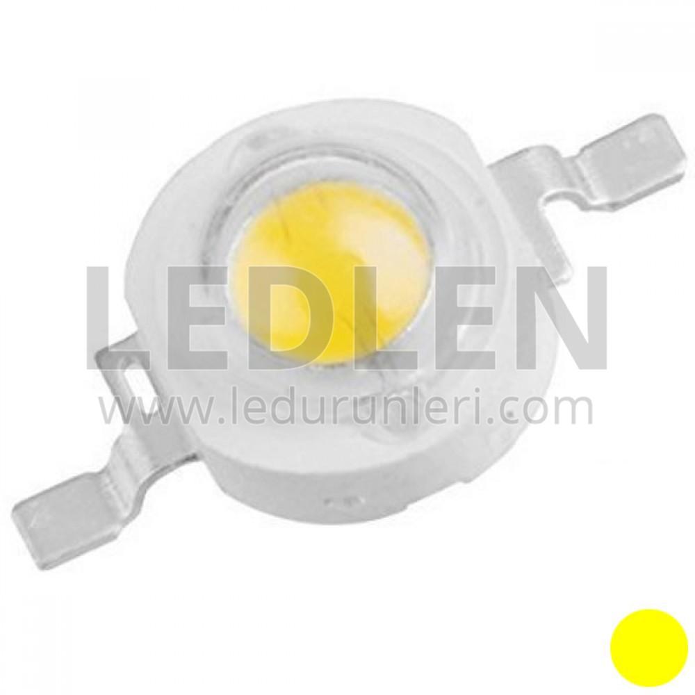 Genesis 1 Watt 350ma (Sarı) Power Led