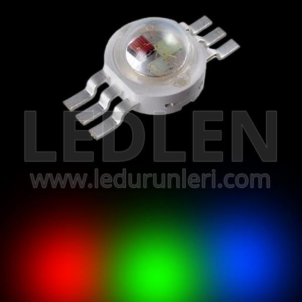 1 Watt RGB Power Led