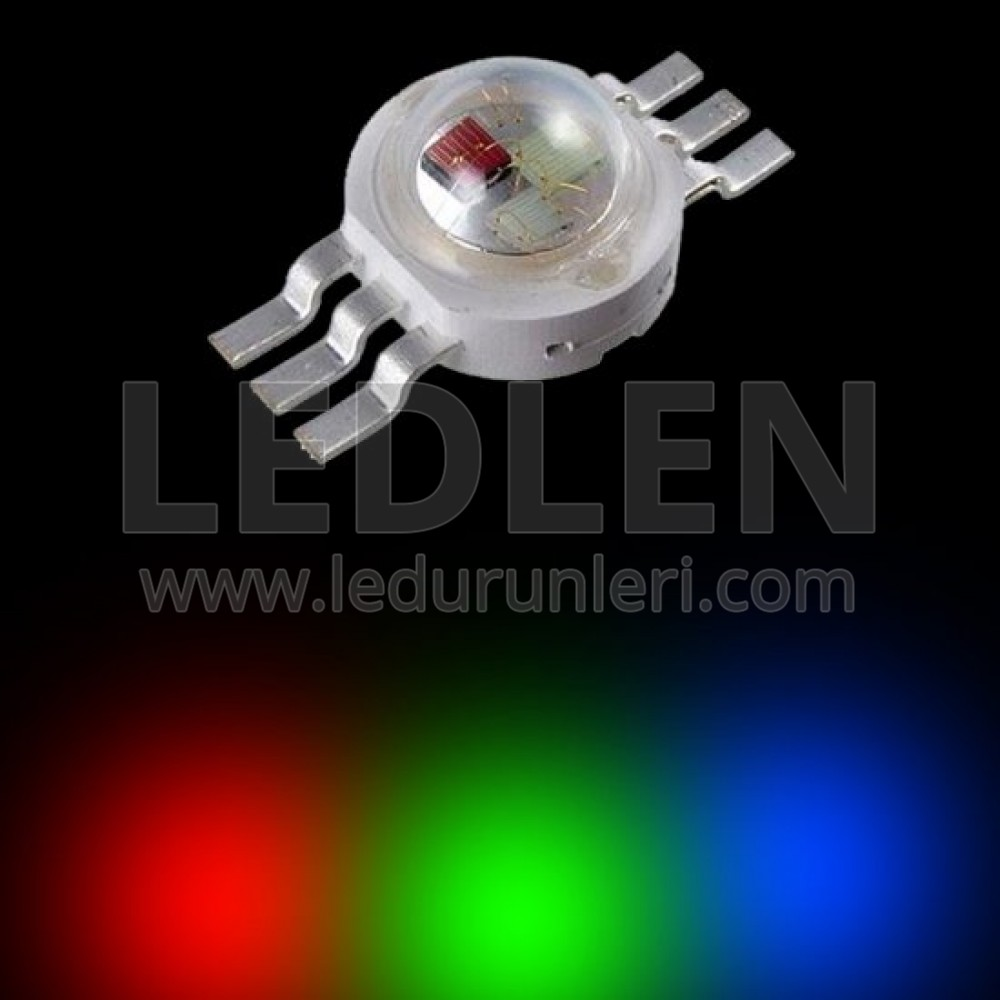 LEDLEN 1 Watt RGB Power Led