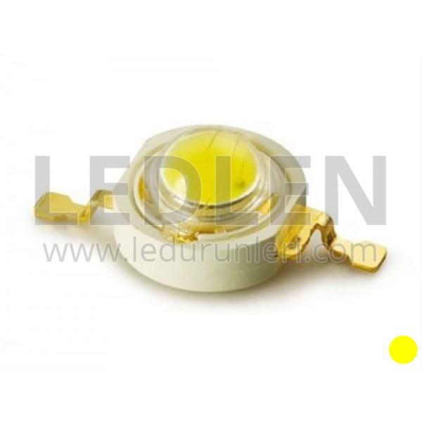 3 Watt 700ma (Sarı) Power Led