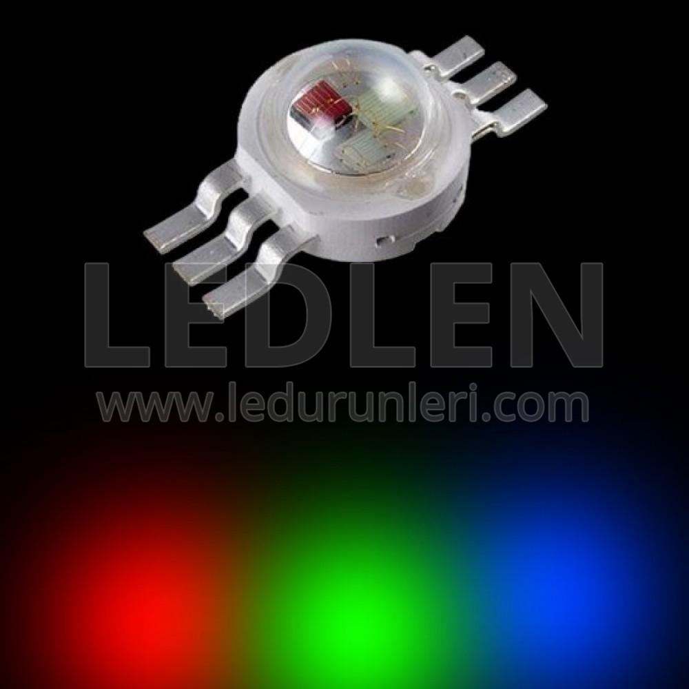 Genesis 3 Watt RGB Power Led