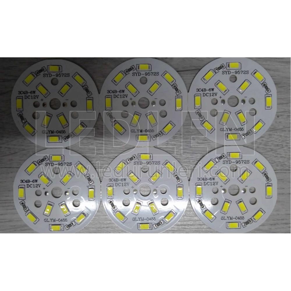 LEDLEN 12 Volt 6 Watt 5730 SMD Pcb Led