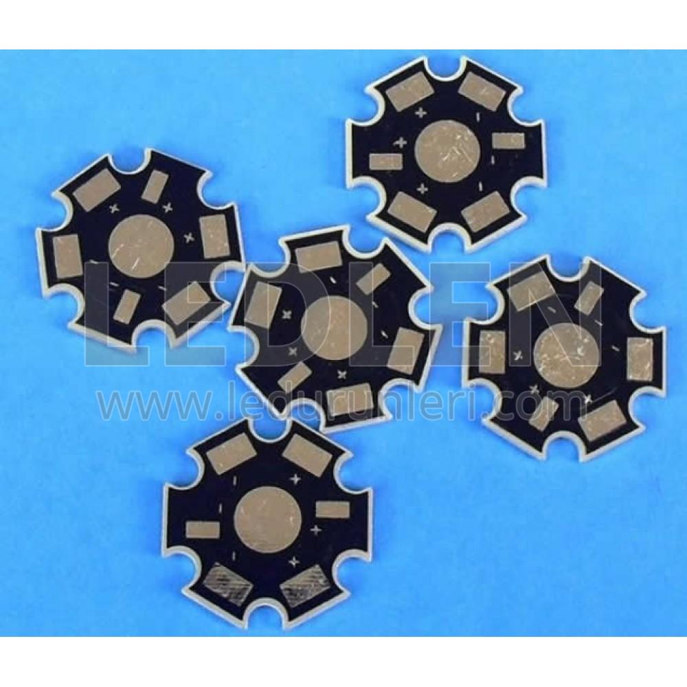 LEDLEN Star Pcb (30lu Paket) Tekli Pcb Aliminyum