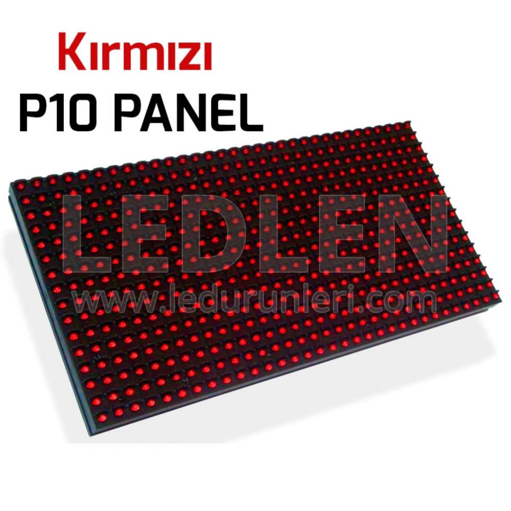 LEDLEN P10 Led Ekran Paneli Kırmızı