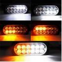 12v 12 Led Tek Renkli Animasyonlu Çakar Flaş Modül 20 Adet - LED136452