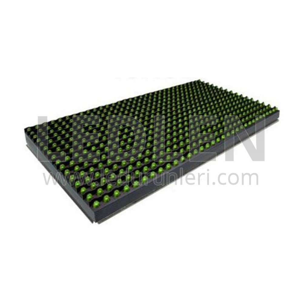 LEDLEN P10 Led Ekran Paneli Yeşil