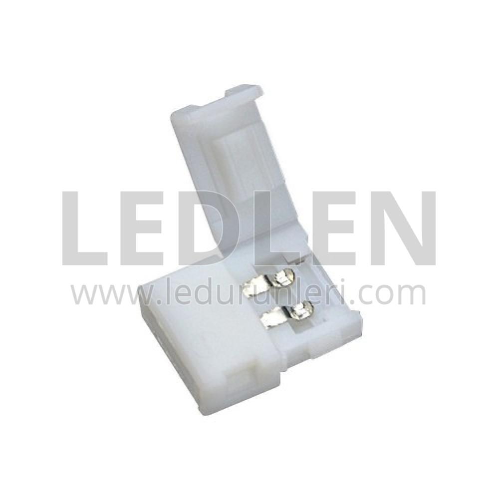 Tek Renk Şerit Led Bağlantı Aparatı - LED320546