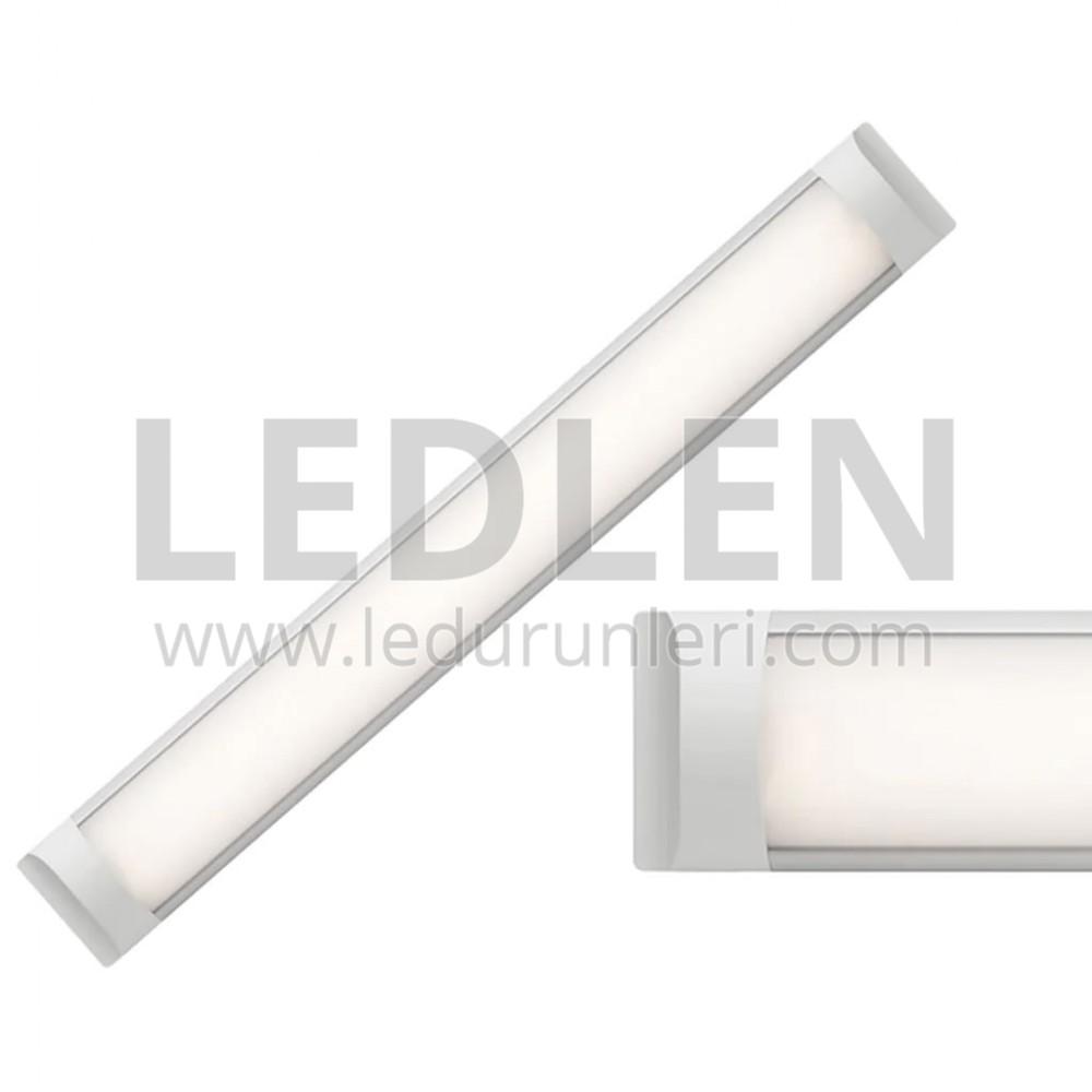 Tavan Aydınlatma 120 cm Led Bant Armatür 2 Adet - LED124365