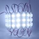 24V 3 Watt Mercekli 3 Lensli Power Led Modül (20 Adet) - LED655253