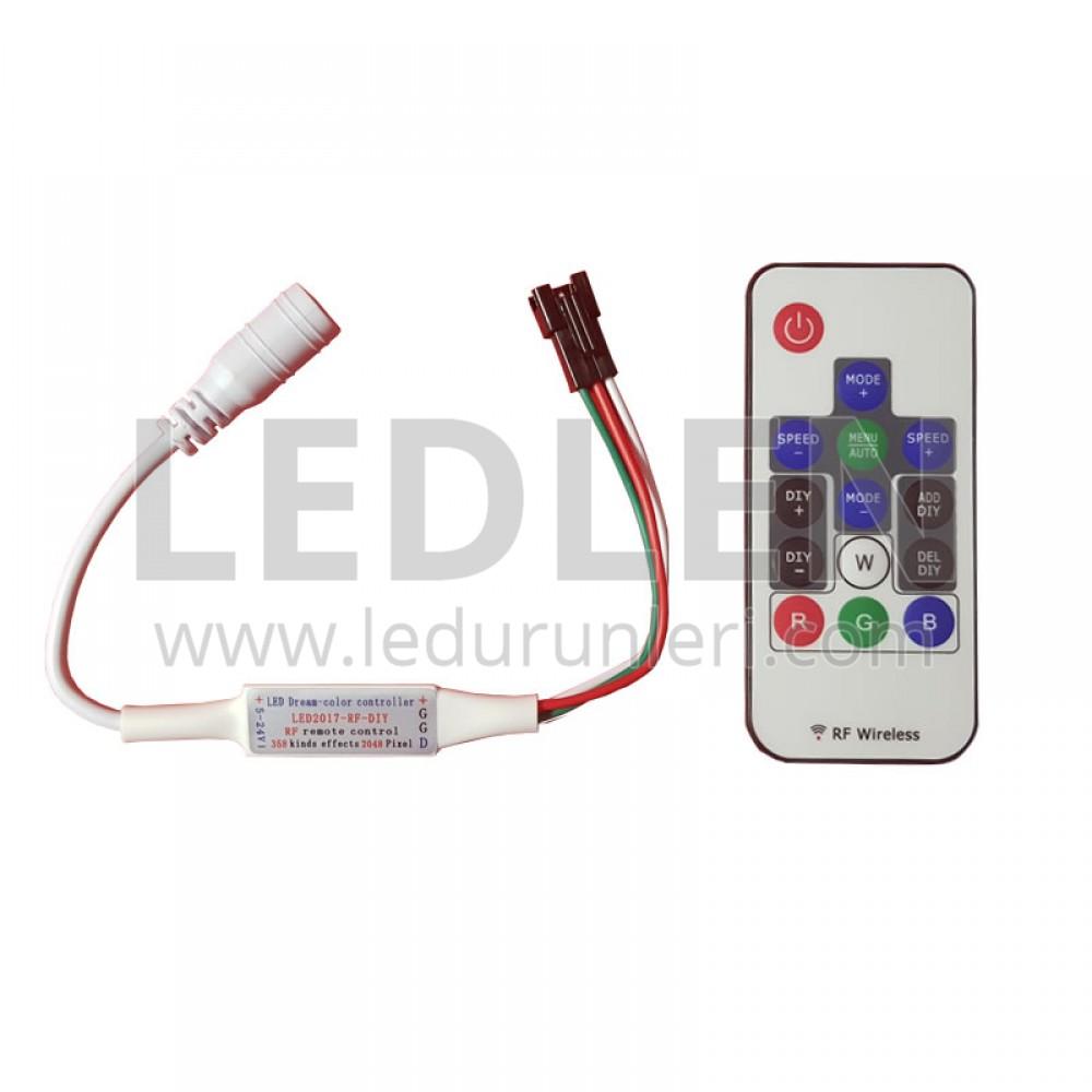 RGB Magic Şerit Led Uzaktan Kumandası - LED432561
