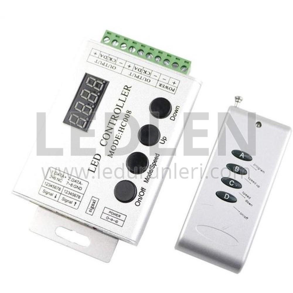 RGB Magic Led Kontrol Kumandası (RF) 1024 Entegre - LED514623