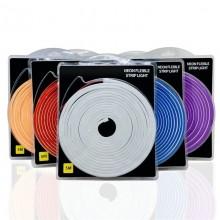 12 Volt 6x12mm Esnek Neon Şerit Led 5 Metre