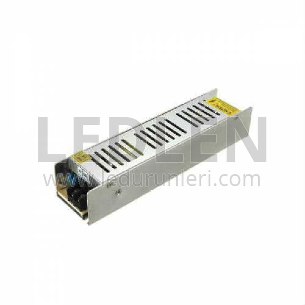 12 Volt 10 Amper Slim (ince) Kasa Adaptör SMPS - LED152634