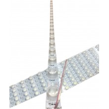 12v 18/Led Lensli PCB Aluminyum Bar Led Yan Aydınlatma Beyaz