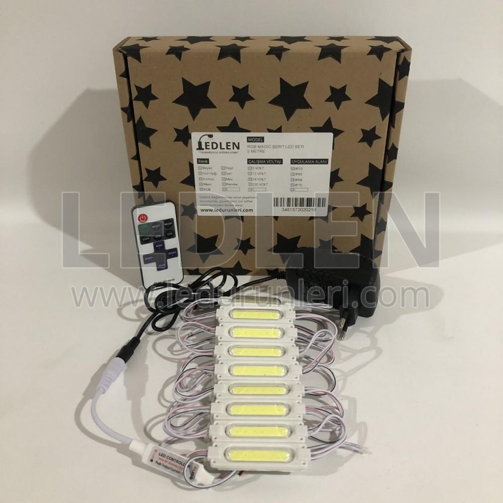 Akvaryum Led Aydınlatma - Hazır Kurulu Paket Tak Çalıştır - MOD-TEK-216