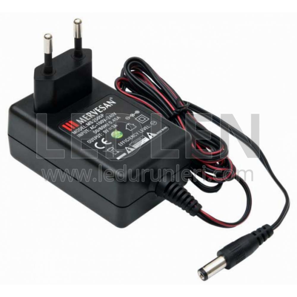 LEDLEN Adaptör - 5 Volt 3 Amper SMSP Adaptör Priz Modeli