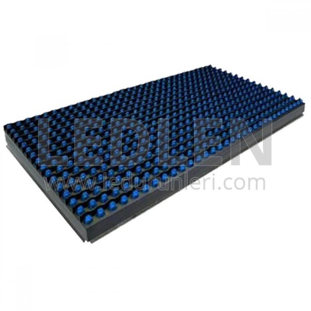LEDLEN P10 Led Ekran Paneli Mavi