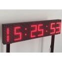 Dijital Saat, Isı-Sıcaklık ve Nem Göstergeli Led Tabela - LED326415