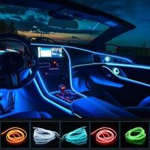 Oto Araç içi Neon İp Led | 12 Volt 3 Metre Torpido Ledi