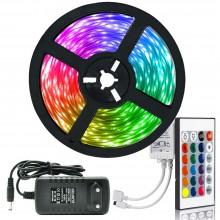 RGB Şerit LED Tak Çalıştır Ürün Seti (RF Kumandalı)