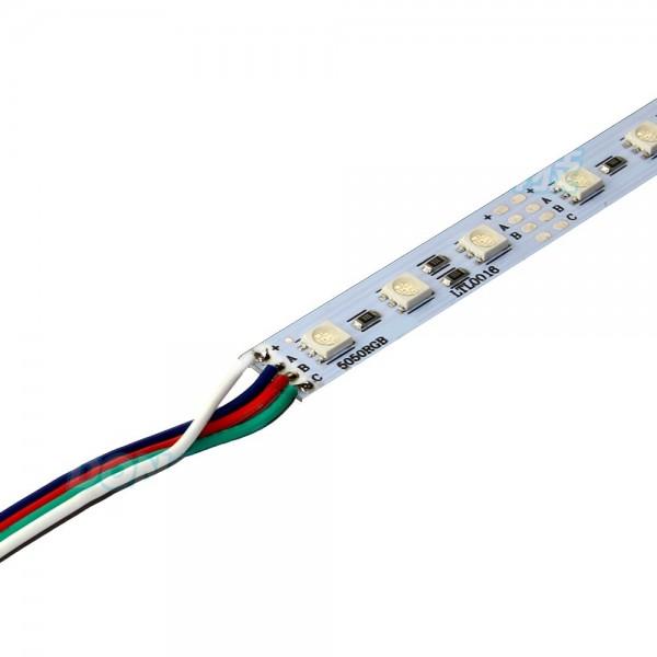 12 Volt 5050 Ledli Led Bar Alüminyum Çubuk 72 Ledli RGB