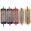 (20 Adet) 12V 12 Ledli Kırmızı-Mavi Animasyonlu Çakar Flaş Modül - LED614532