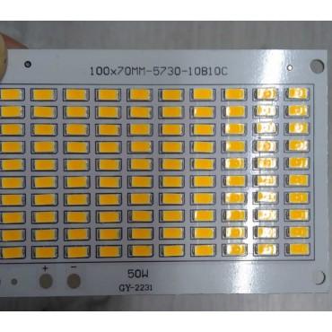 50 Watt PCB Smd Projektör Ledi