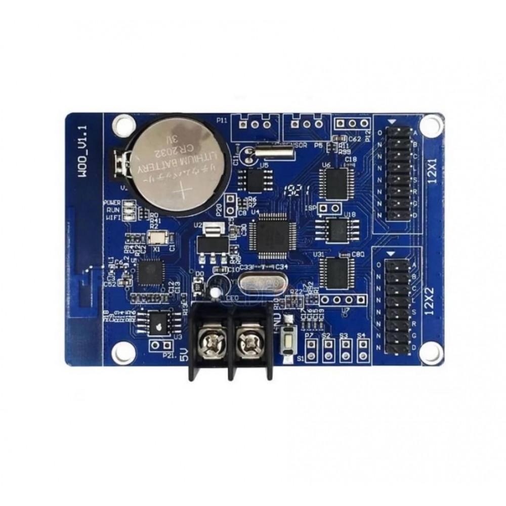 HD-W00 2 Sıralı Wi-Fi Kayan Yazı Kontrol Kartı