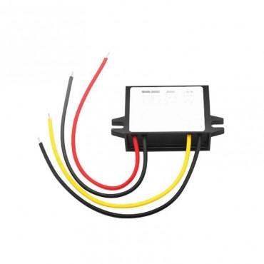 Çevirici/Konvertör: Giriş 24V / Çıkış 12V. 5A. Plastik Kasa