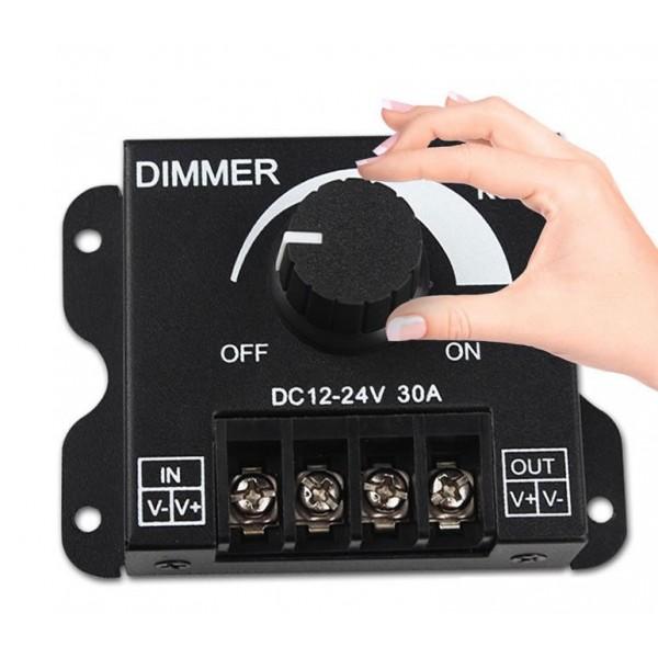 Manuel Led Dimmer 12 Volt 30 Amper
