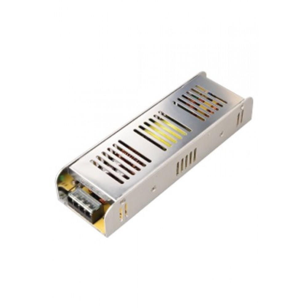 12V. 12,5 Amper Slim Metal Kasa Led Trafosu - Adaptörü