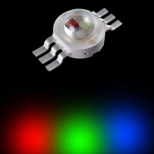 3 Watt RGB Power Led