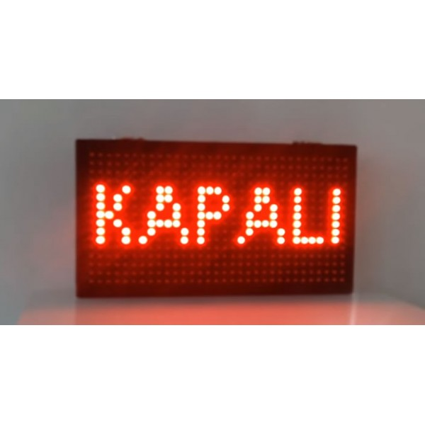 Hangova Akıllı Led Kapı Tabelası (Açık-Kapalı)
